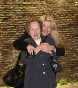 Cat & Verna (my Mom) in Rome, 2005